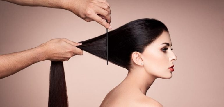salon hair results at home